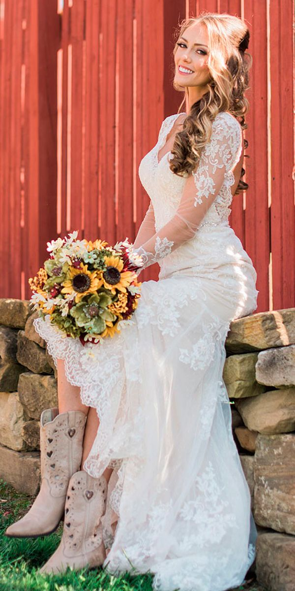 Bridal Guide 27 Country Wedding Dresses Country wedding