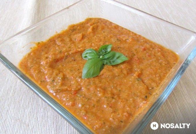 Mediterrán zöldségszósz tésztához, húshoz
