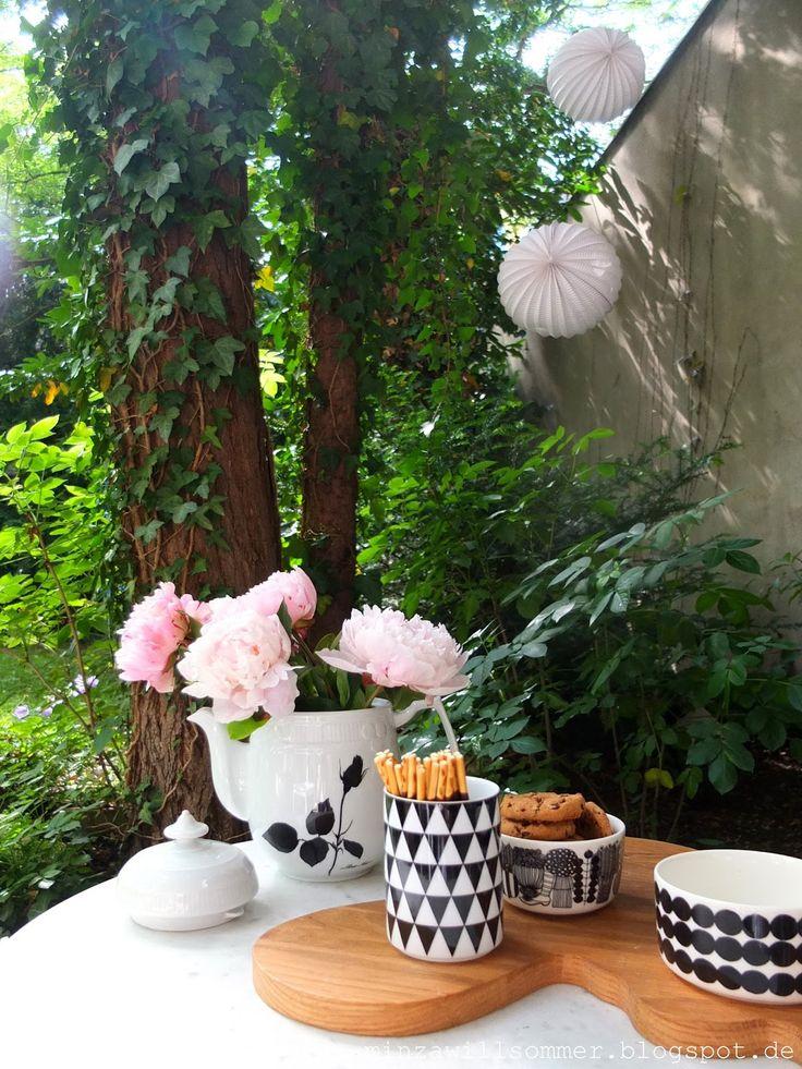 minza will sommer deko search and garten. Black Bedroom Furniture Sets. Home Design Ideas