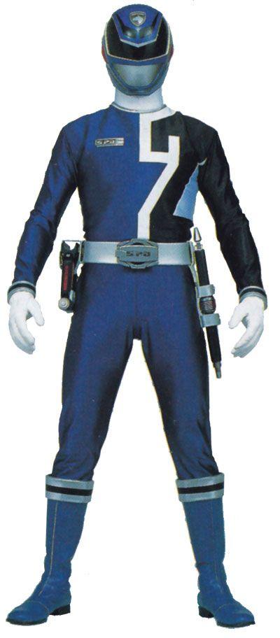 SPD blue   Power Rangers SPD Cosplay -- Blue Ranger Cosplay Costume Version 01 ...
