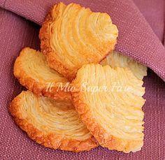 Palmine di pasta sfoglia