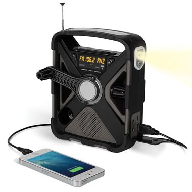 The Best Emergency Radio - Hammacher Schlemmer...Would love this!!