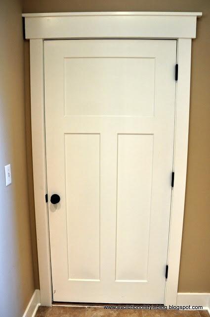 Interior door framing new house pinterest - Craftsman style interior trim details ...
