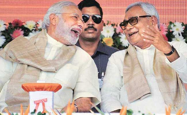 Prime Minister Narendra Modi Greets Nitish Kumar On 66th Birthday