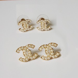 Chanel Pearl Earrings Google Suche Pinterest Pearls And