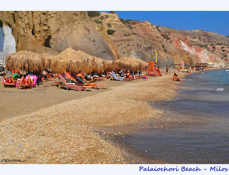 Paliochori Beach-Milos by Chris Vekris on 500px