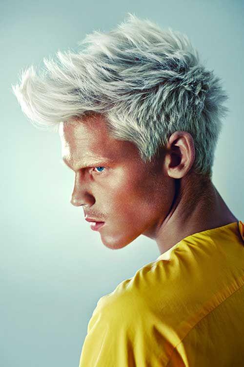 15 avec guy cheveux blancs - Coloration Cheveux Blanc Pour Homme