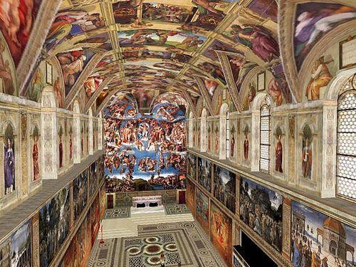 Rome/Vatican City - Sistine Chapel