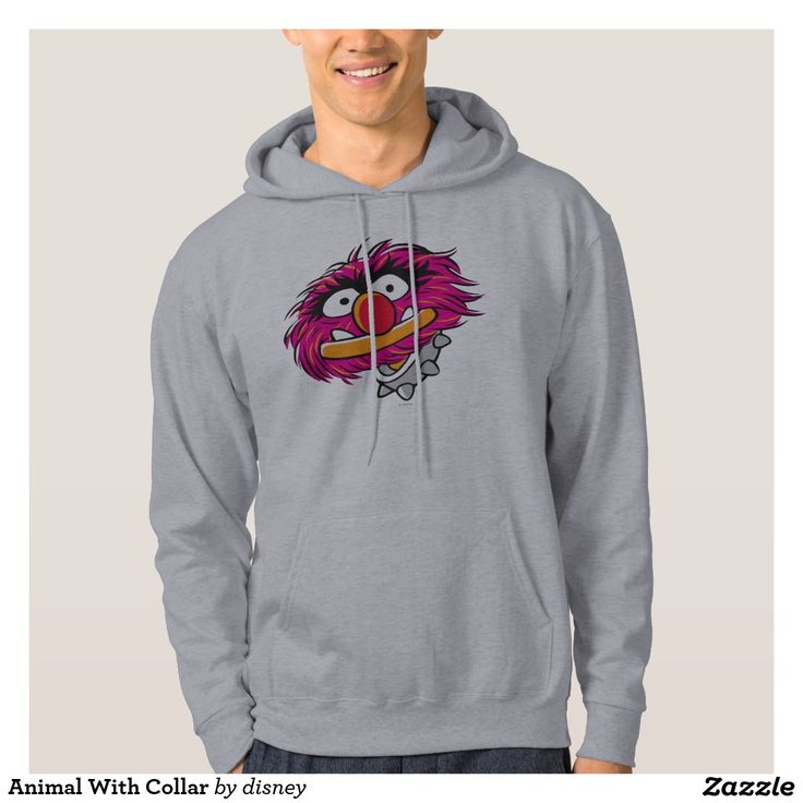 Animal With Collar Hoodie. Regalos Padres, fathers gifts, #DiaDelPadre #FathersDay