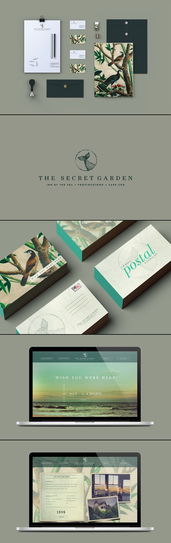 61 best business cards images on pinterest presentation cards the secret garden identity speaks for it i especially love the teal edges of the business cards by christian allegra poschmann magicingreecefo Choice Image