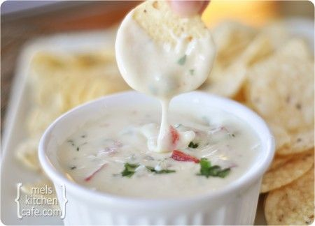 melskitchencafe.com: Queso Blanco Dip
