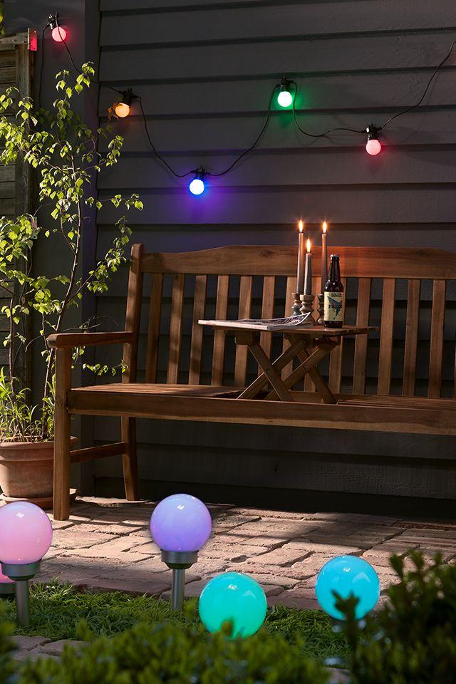 Lass Es Leuchten Bunte Lichter Im Garten Sind Doch Immer Schon Oder Licht Im Garten Bunt Lichterkette
