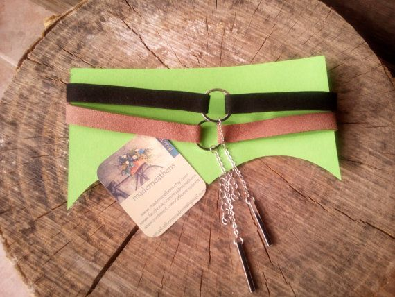Check out this item in my Etsy shop https://www.etsy.com/listing/495044401/chokers-with-lucky-charms-in-velvet