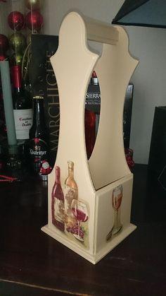 porta botellas de vino en mdf - Buscar con Google                                                                                                                                                      Más