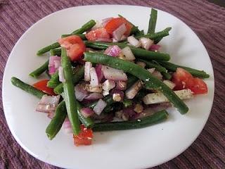 Green Bean and Feta Salad | food | Pinterest