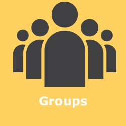 Groups is where you can participate in Teer discussions