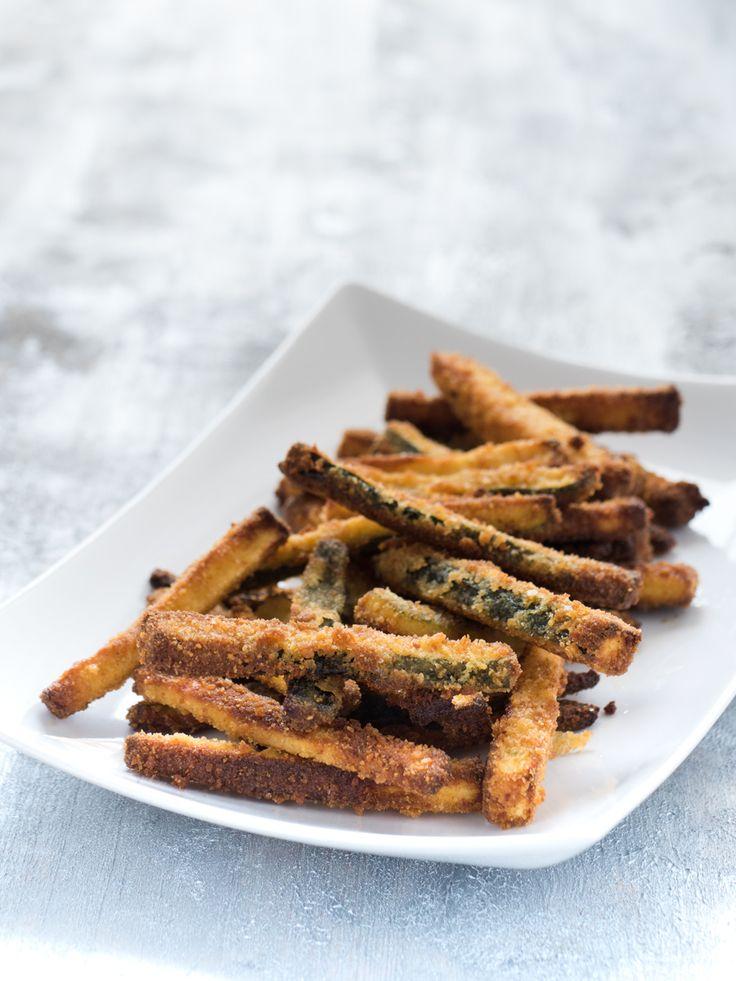 Stick di zucchine al forno