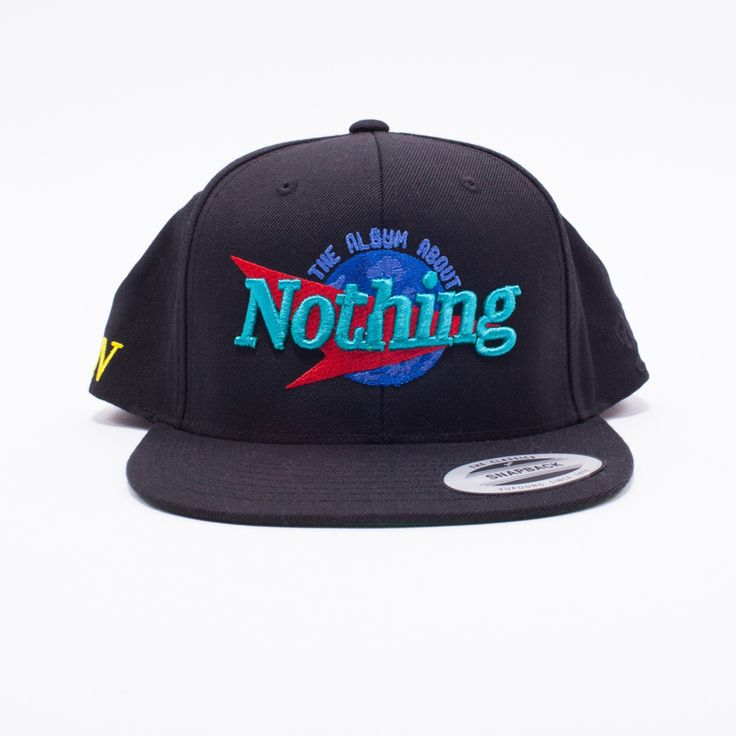 """The Album About Nothing"" Snapback Hat 