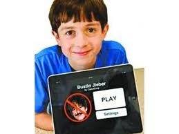 Bustin Jeiiber 12 year old creating apps.