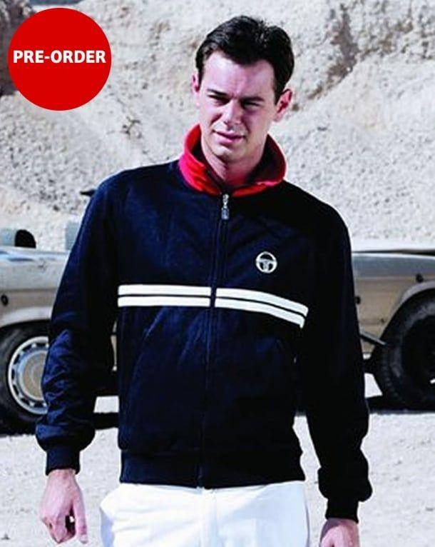 e4cb50c6d13a Sergio Tacchini Dallas Track Top Navy/Red/White | ibiza clothes ...