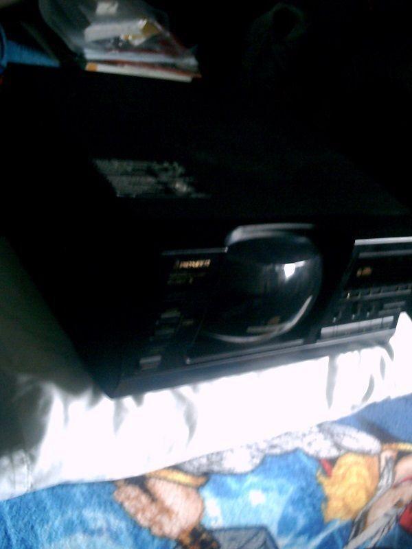Pioneer CD Player 1- Bit-DLC, Direct Linear Conversion Model PD-F807 #Pioneer