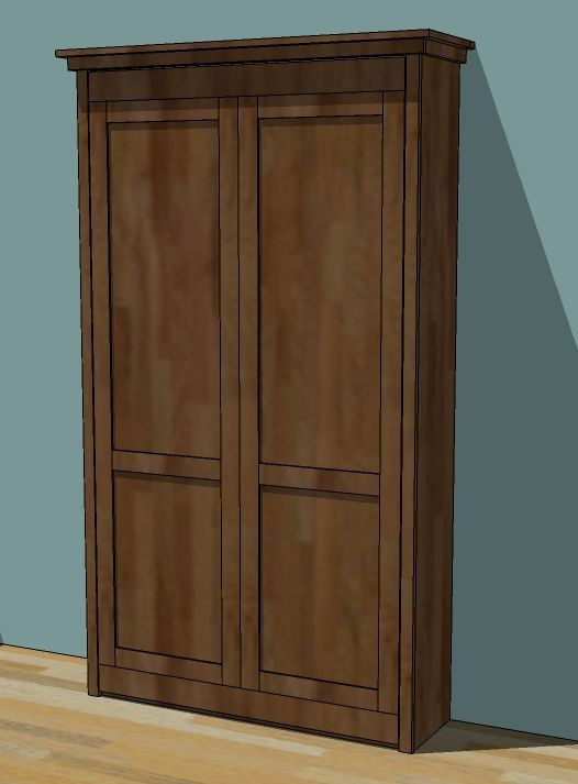 Well, the Murphy bed has been hacked and built. And Anji wrote all about it here! Here are the plans: Many, many of you have requested the Murphy Bed Plans, and I have been wanting to draw up a pl…