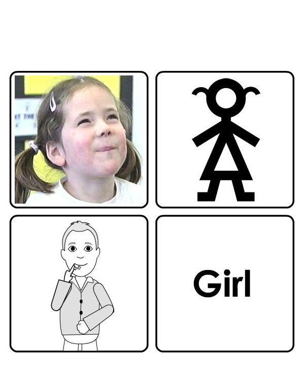 makaton for girl
