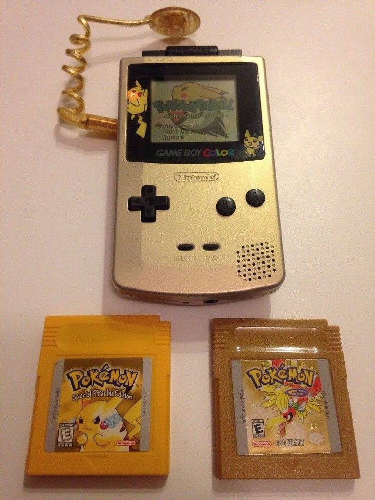 Gameboy Color Pokemon Gold & Silver Limited Edition Lot - FREE SHIPPING!  | eBay