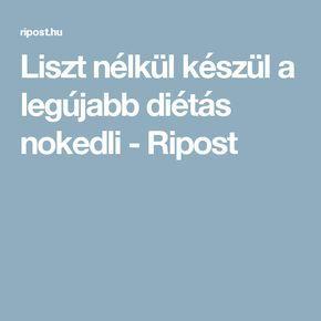 Liszt nélkül készül a legújabb diétás nokedli - Ripost