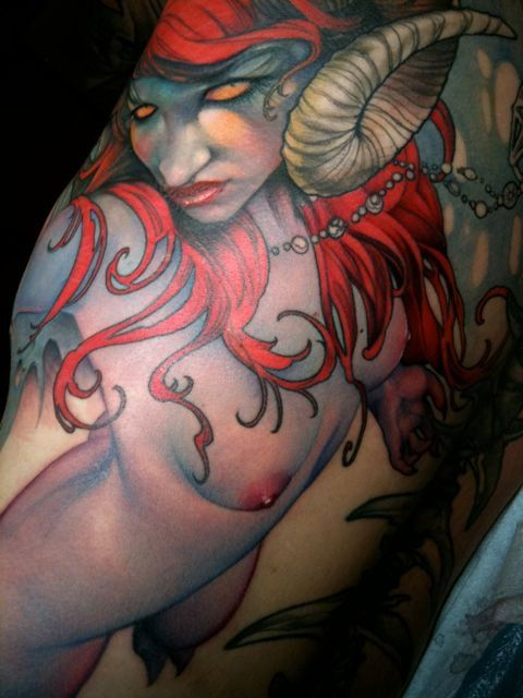 Tattoo by Jeff Gogue