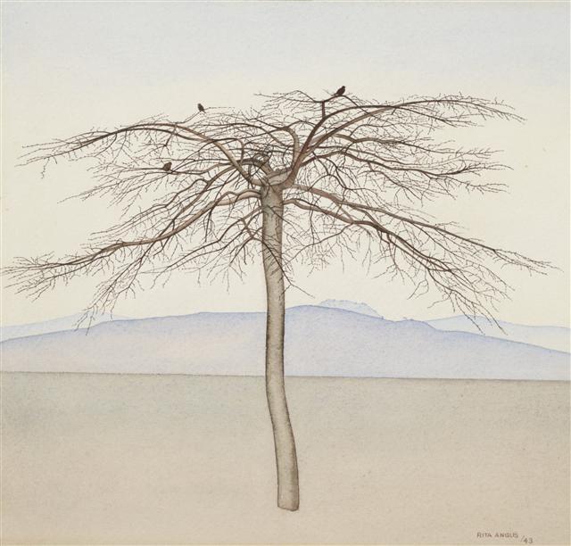 Tree  1943 - Rita Angus