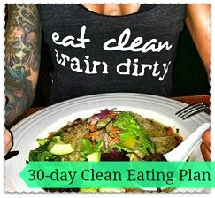 30-day Clean Meal Plan! Awesome meal plan for the October Fitness Challenge via www.myfitstation.com !