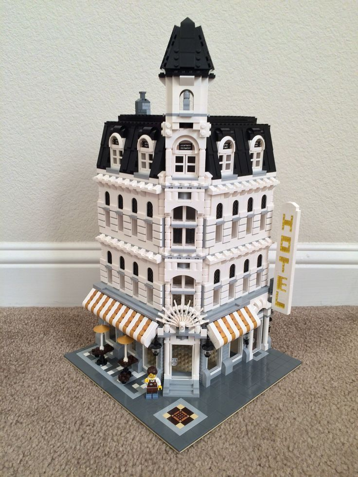 My first custom build. Lego modified Cafe Corner. | Lego ...