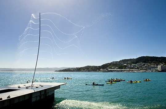 Water Whirler, Wellington, New Zealand