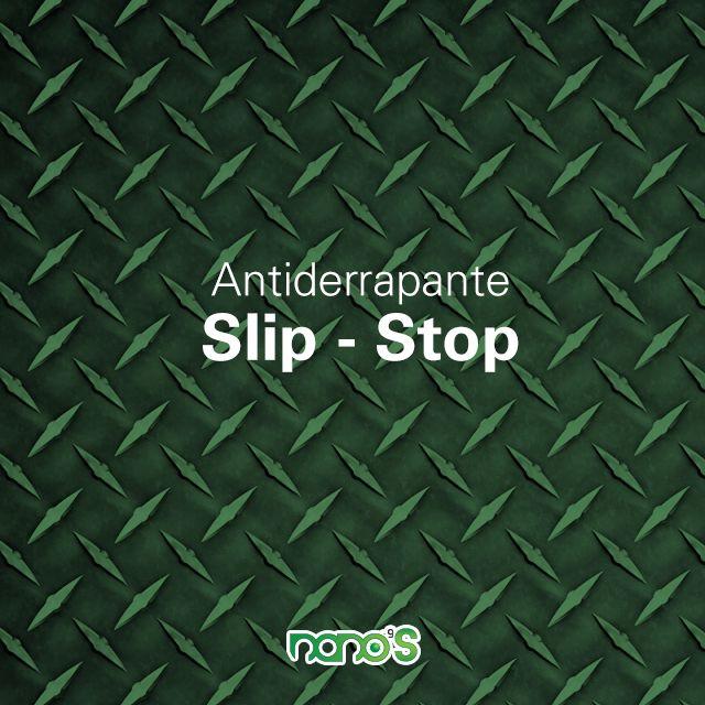 #Nanoproducto Slip-Stop es un producto que vuelve antiderrapantes tus superficies de porcelanato, granito, y sus derivados. Este excelente producto funciona por medio de la Nanotecnología, agregando propiedades a tus superficies sin alterarlas. No contiene ácidos corrosivos.