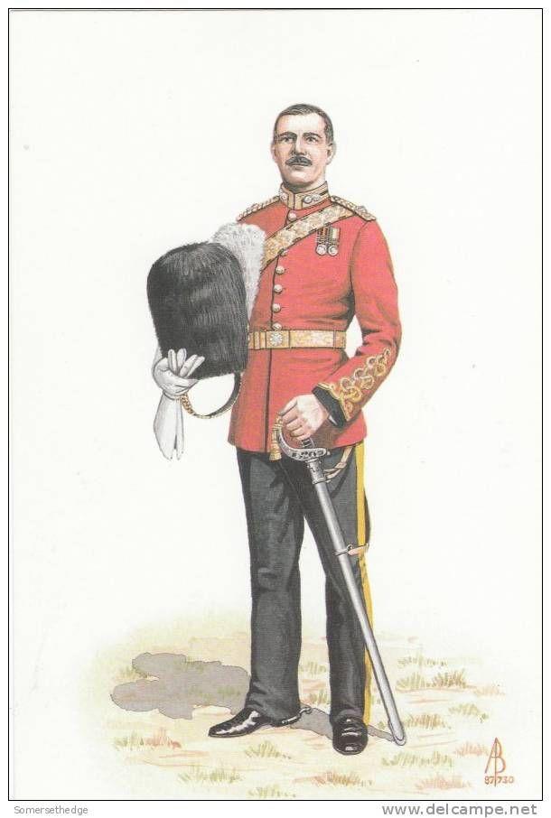 British; 2nd Dragoons Royal Scots Greys, Major 1904 by Alix Baker.