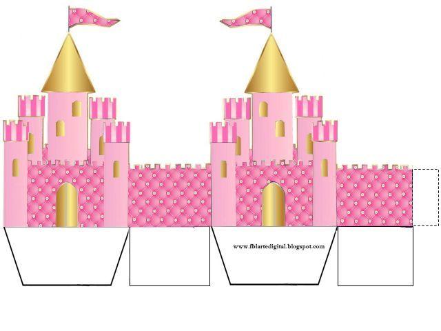 kit festa infantil com tema realeza para meninas com as cores rosa e dourado  Mais um kit festa infantil para vocêscom tema realeza ou coro...