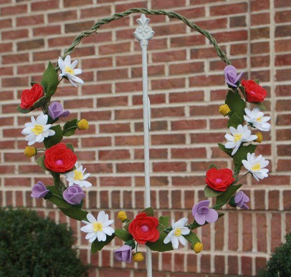 Sentivo Wildflower corona  estate ghirlanda con fiori di