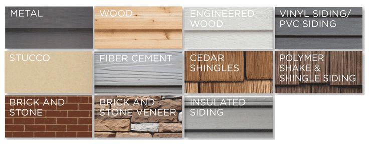 exterior cladding, vinyl siding, aluminum, wood, shakes and shingles, insulated siding, brick, stone veneer, engineered wood