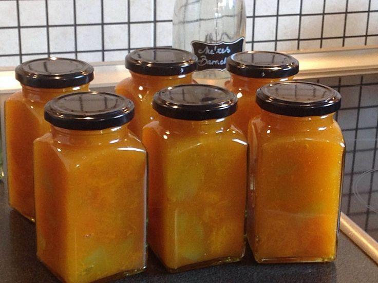 Villám-baracklekvár, amit megbolondított a dinnye és a pálinka (Apricot-Melon Jam, hungarian recipe and video)