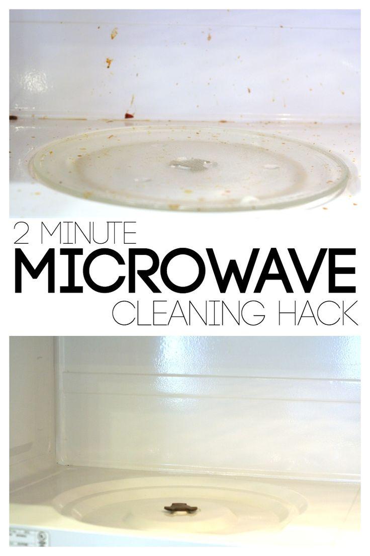 LemonLimeAdventures.com/*** 2 Minute Microwave Cleaning Hack