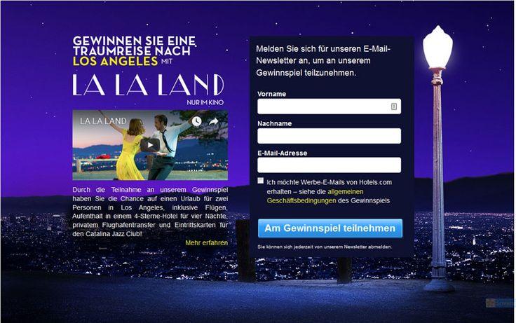 Gewinnen Sie eine Traumreise nach Los Angeles mit dem Kinohit La La Land