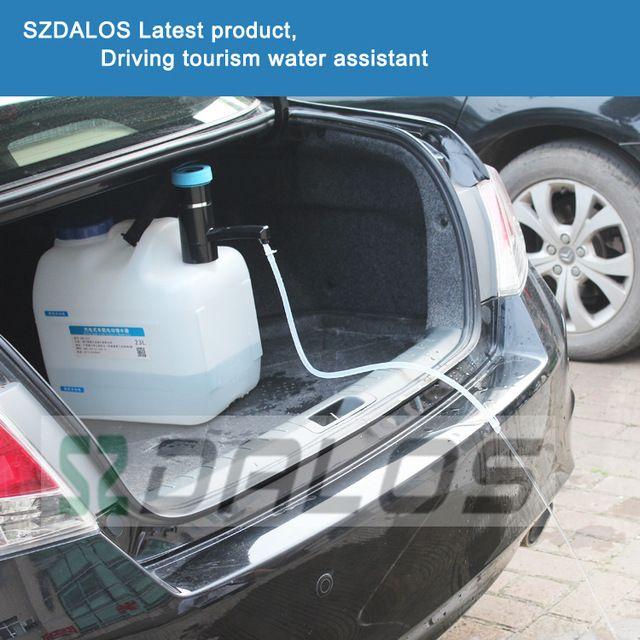 Автомобиль кулер для воды, аккумуляторная Автомобиль электрический водохранилища, открытый диспенсер для воды, Самостоятельного вождения Тур бутылки воды