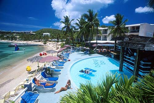 Bolongo Bay in St. Thomas...all inclusive...one of our best family vacations yet!