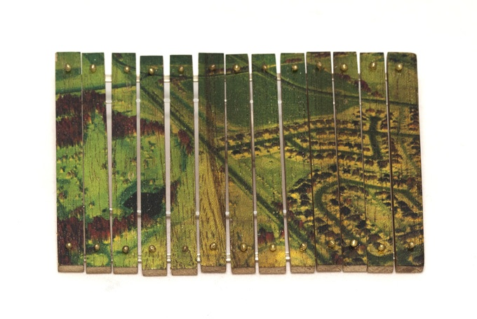 "Brooch ""Urbanizacion I"" by Iacov Azubel."