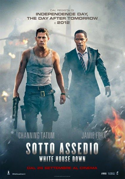 2013, poster art: Sotto assedio - White House down