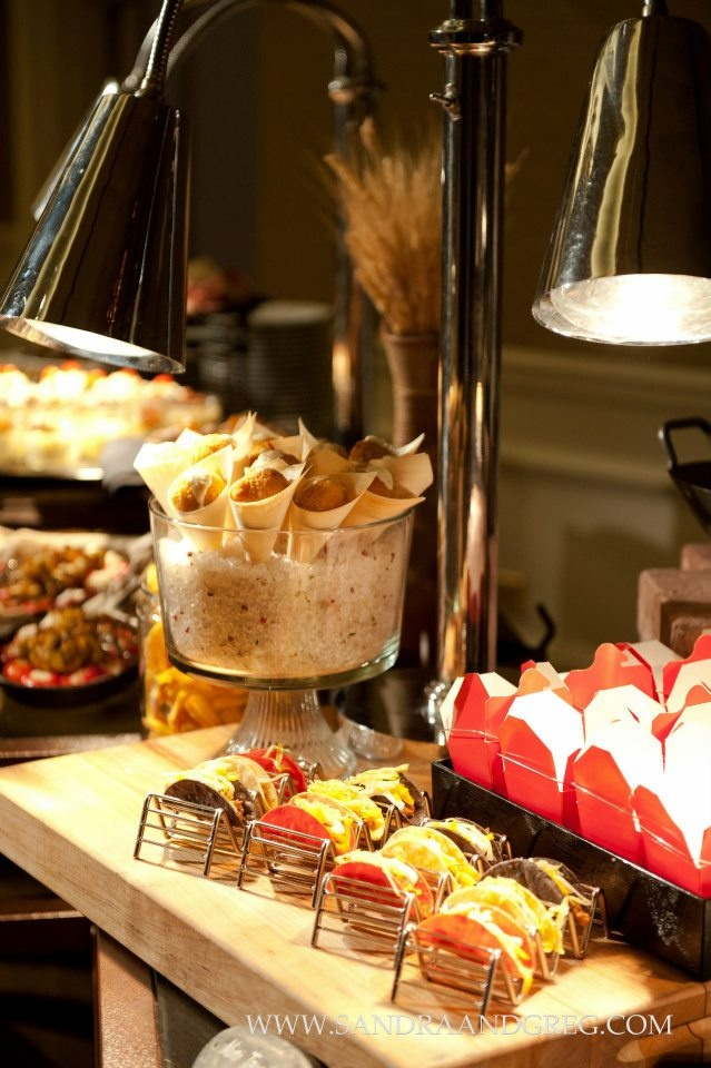 wedding reception dinner ideas on budget%0A Tiny food is just too cute  No wedding would