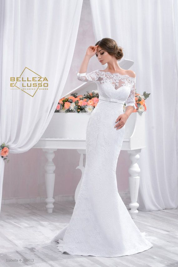 Hey, I found this really awesome Etsy listing at https://www.etsy.com/listing/241039009/lace-wedding-dress-long-slim-wdding-gown