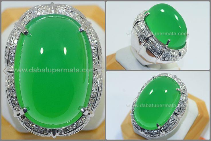 Exclusive Green Apple Calcite Neprite Colour - JD 040 + MEMO
