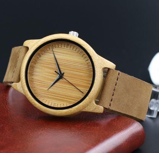 woodary simple wood watch